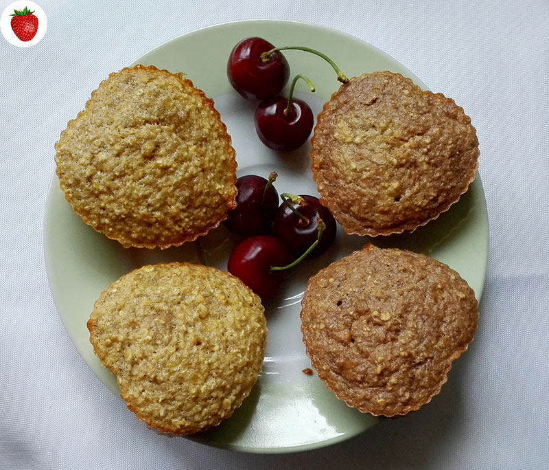 Delicious Banana Oat Muffins