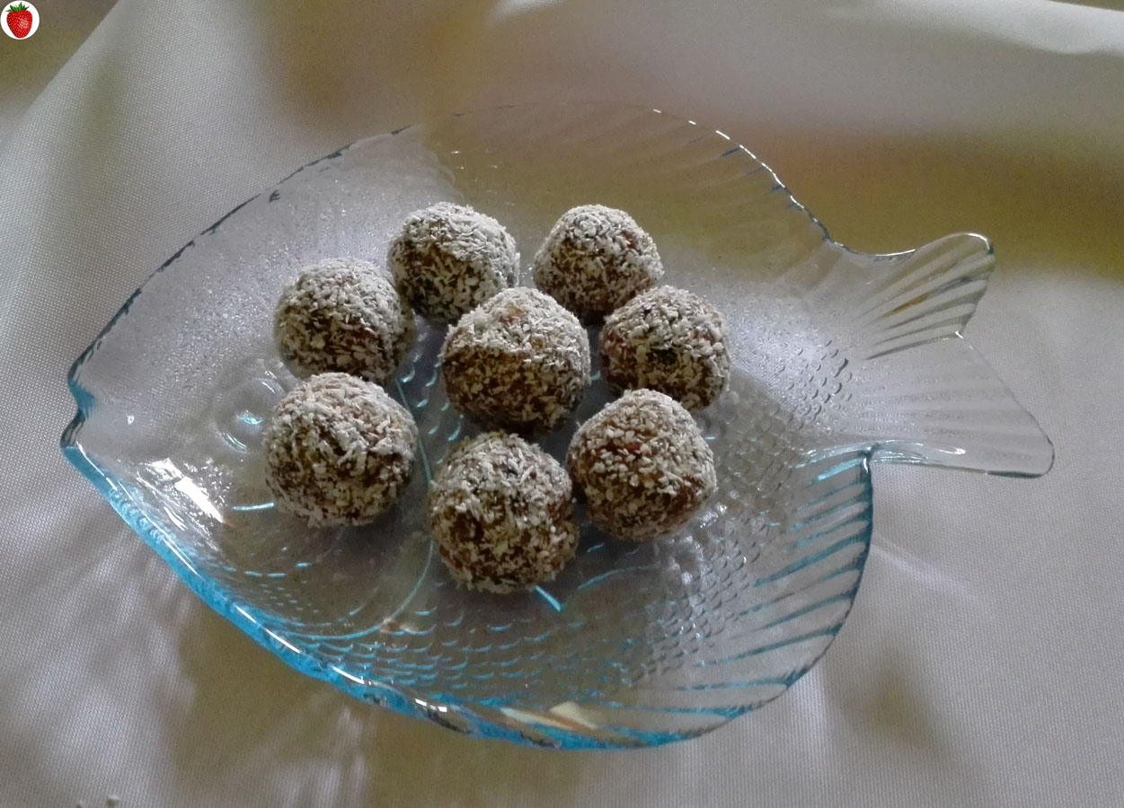 Raw Nutty Vegan Truffles