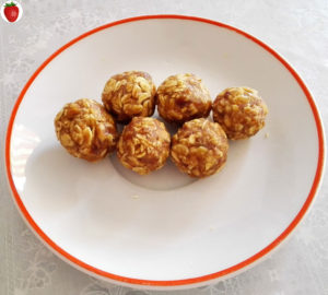 energy balls with whole oats