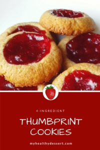 4 Ingredient Thumbprint Cookies