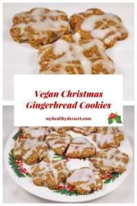 Vegan Christmas Gingerbread Cookies