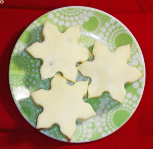 Vegan White Chocolate Snowflakes