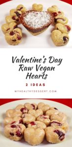 Valentine's Day Raw Vegan Hearts
