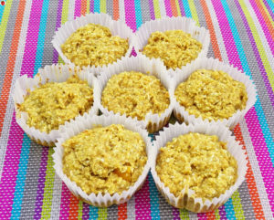 Vegan Lemon Coconut Muffins