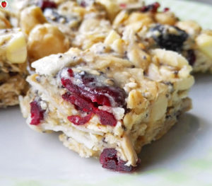 Raw Vegan Granola Bars