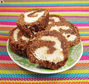 Raw Vegan Swiss Roll