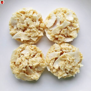 No-Bake Vegan Coconut And Orange Jam Cookies