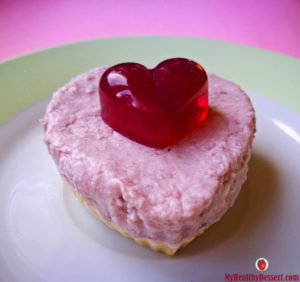 No-Bake Cherry Cheesecake For Valentine's Day