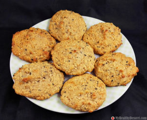 Sesame Cookies With Coconut Flour