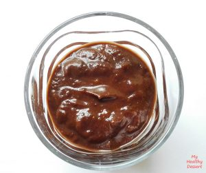 date-chocolate-sauce