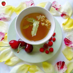 tea petals