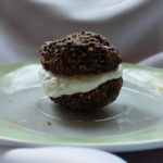 homemade coconut oreo cookie