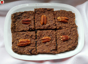 yogurt banana oat brownies
