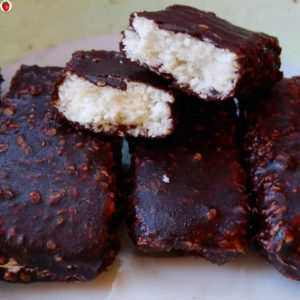 Delicious Homemade Vegan Bounty Bars