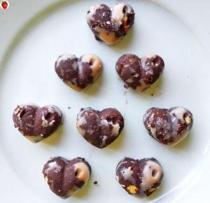 Hazelnut And Orange Vegan Chocolates