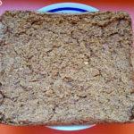 Baked vegan carrot cake