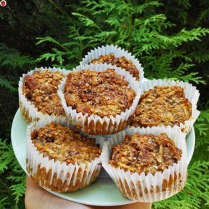 Vegan carrot and apple muffin recipe