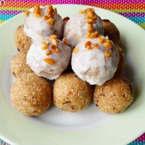 Vegan Coconut Pumpkin Truffles For Thanksgiving