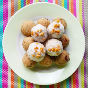 Vegan Coconut Pumpkin Truffles