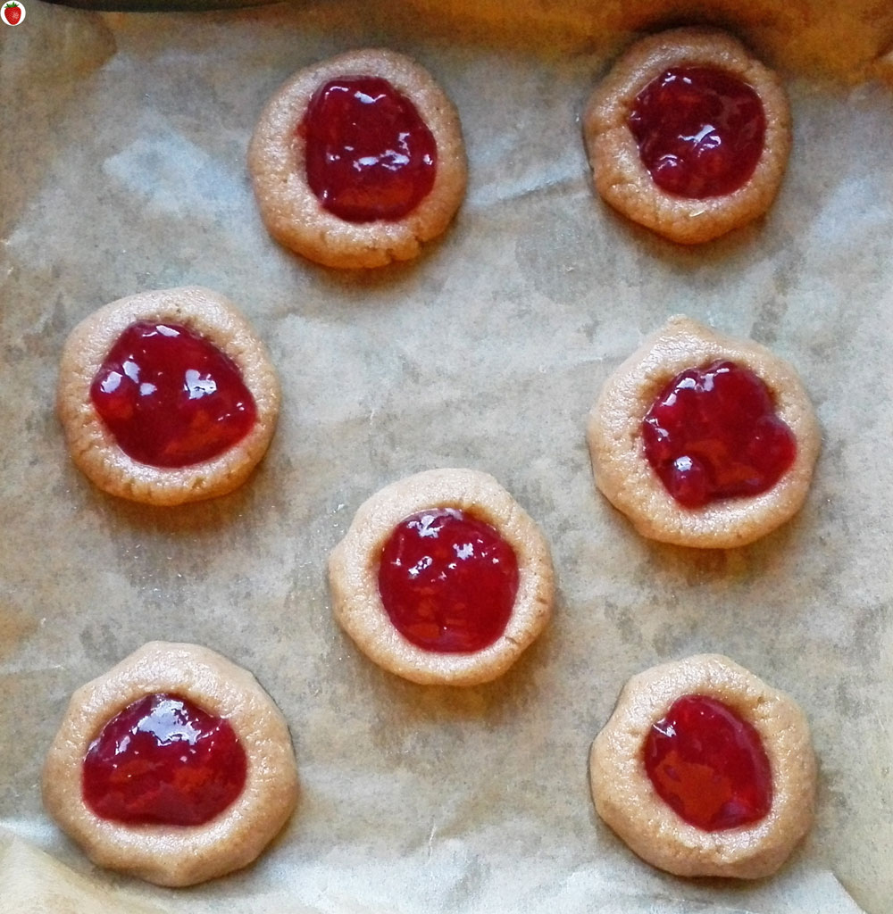 how to make jam filled cookies