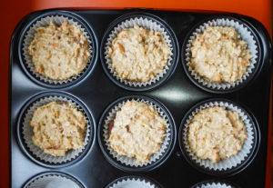 Vegan muffin mixture