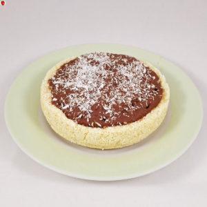 Raw Vegan Coconut Chocolate Tart
