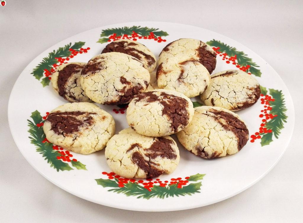 Delicious Vegan Marble Cookies