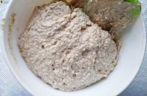 Vegan muffin mixture