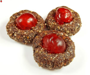 Raw Vegan Cherry Cookies