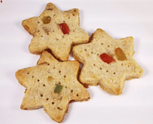 Vegan Christmas Shortbread Cookie Recipe