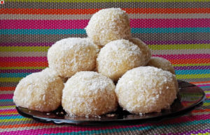 Delicious Homemade Vegan Raffaellos