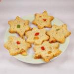Vegan Christmas Shortbread Cookies