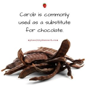 Carob Facts