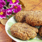Crispy Flourless Flax Cookies (Vegan, Gluten-Free)