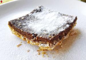 Baked Carob Oatmeal Bars (Gluten-Free, Dairy-Free, Chocolate-Free)