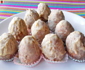 Raw Vegan Carrot Cake Truffles For Easter