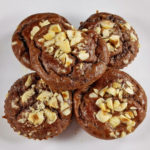 Fudgy Banana Chocolate Muffins (Paleo Recipe)