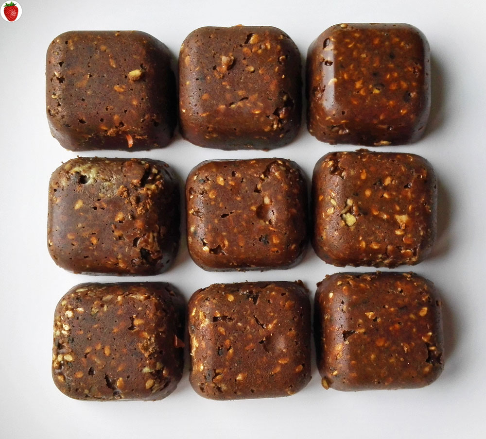 Raw Vegan Chocolate Hemp Protein Bars