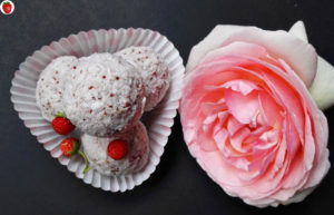 Raw Vegan Strawberry Coconut Truffles