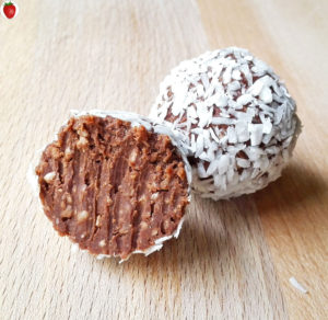 Delicious Chocolate and Coconut Truffles