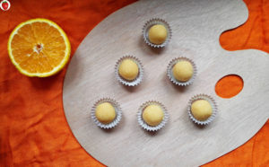 Vegan Cacao Butter Orange Truffles