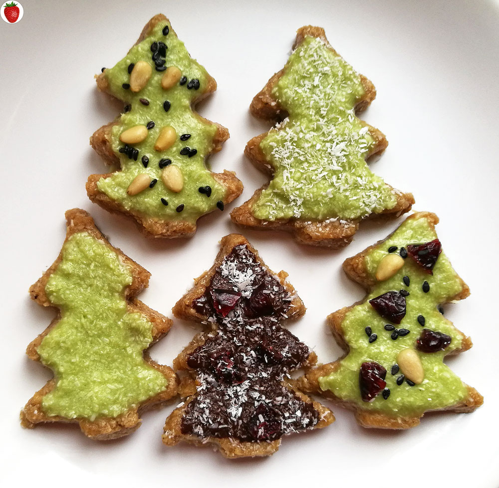 No-Bake Christmas Tree Cookies (Plant-Based Recipe ...