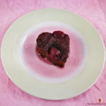 Flourless Cherry Brownies For Valentine's Day