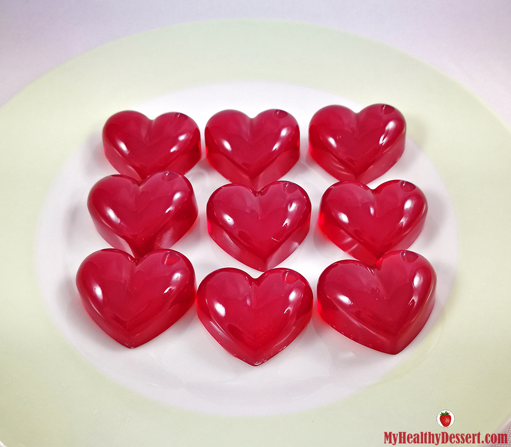 Agar-Agar Gummies For Valentine's Day