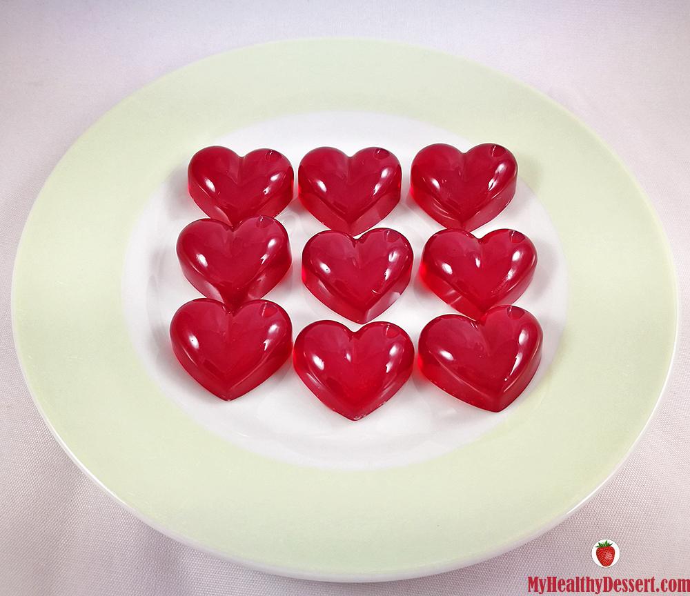 Agar-Agar Gummies For Valentine's Day