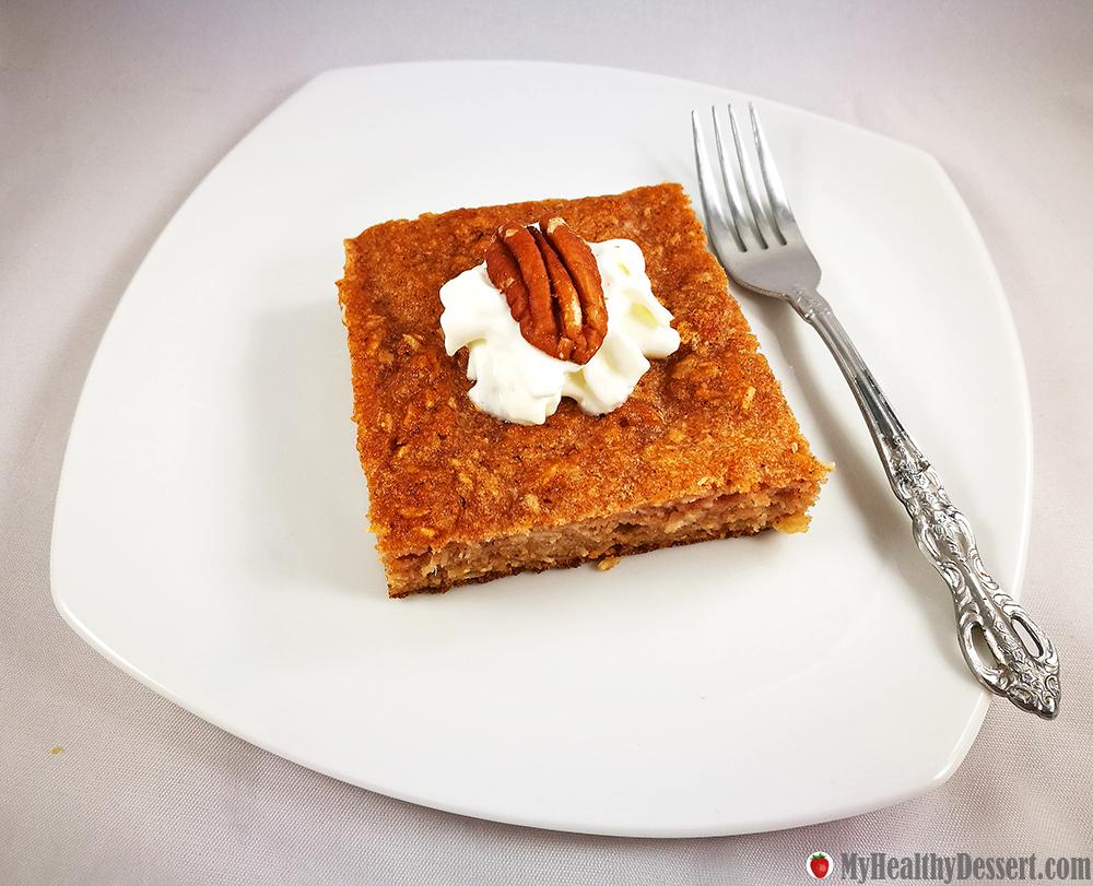 Gluten-Free Applesauce Cake