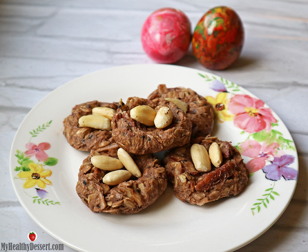 Delicious Vegan Easter Nests