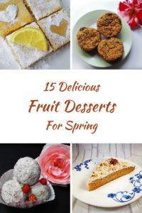 15 Delicious Spring Fruit Desserts